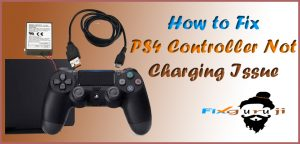 ps4 controller not charging