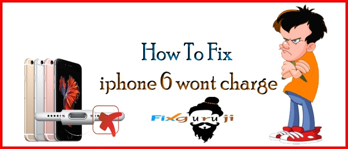 iphone 6 wont charge