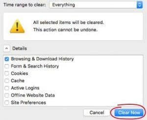 how-to-delete-history-on-mac