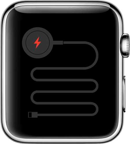 Apple watch is not charging