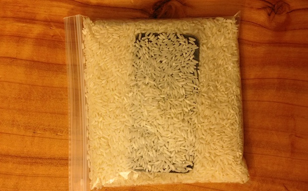 No Silica? Try Rice!